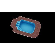 Бассейн Голубая лагуна 5,0х3,0х1,7