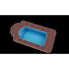 Бассейн Голубая лагуна 6,0х3,0х1,5