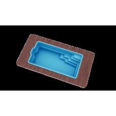 Бассейн Голубая лагуна 6,2х3,0х1,5