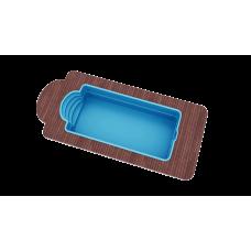 Бассейн Голубая лагуна 7,0х3,2х1,5