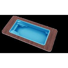 Бассейн Голубая лагуна 8,5х3,7х1,5