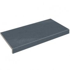 Бортовая плитка Aquaviva Montagna Black, Г-образная, 595x345x50(20)