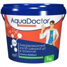 Дезинфектант на основе хлора быстрого действия AquaDoctor C-60 1 кг. в гранулах