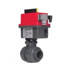 Кран шаровый EFFAST d16 мм (BDREBK1YA0160) с электроприводом PTFE/EPDM