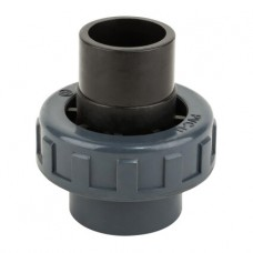Муфта ПВХ Kripsol разборная клей-клей EHS10 63.C диаметр 63 мм.