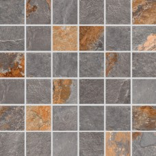 Мозаика керамогранитная Aquaviva Ardesia Loft, 300x300x9 мм