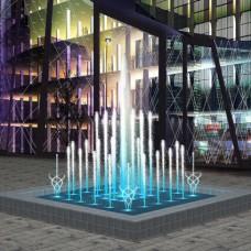 Фонтан музыкальный танцующий Aquaviva (квадратный, 2х2 метра)