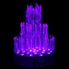 Фонтан музыкальный AquaViva круглый 1,5 метр, 62 форсунки