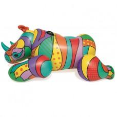 Плавательный круг Bestway 41116 Поп-арт носорог (201х102) уцененный