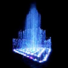 Фонтан музыкальный AquaViva фигурный 4,5х3,5 метра, 167 форсунок