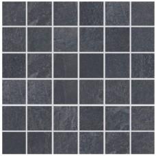 Мозаика для бассейна Aquaviva Ardesia Black 300x300x9 мм
