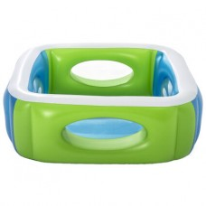 Детский надувной бассейн Bestway 51132 (168х168х56), с окошками