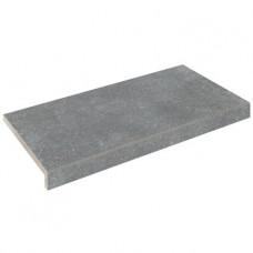 Бортовая плитка Aquaviva Granito Gray, Г-образная, 595x345x50(20)
