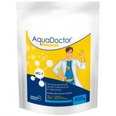 Дезинфектант 3 в 1 на основе хлора AquaDoctor MC-T 0,4 кг. (таблетки по 200 гр)