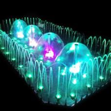Фонтан музыкальный AquaViva прямоугольный 2х4 метра, 55 форсунок