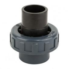 Муфта ПВХ Kripsol разборная клей-клей EHS10 50.C, диаметр 50 мм.
