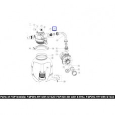 Втулка 2011026 для шланга Emaux FSP